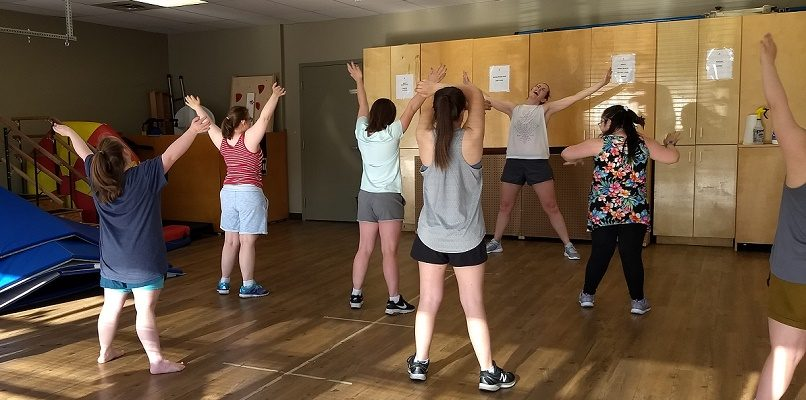 Zumba for those with Down syndrome 13 years +