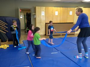 Movement classes for children with Down syndrome